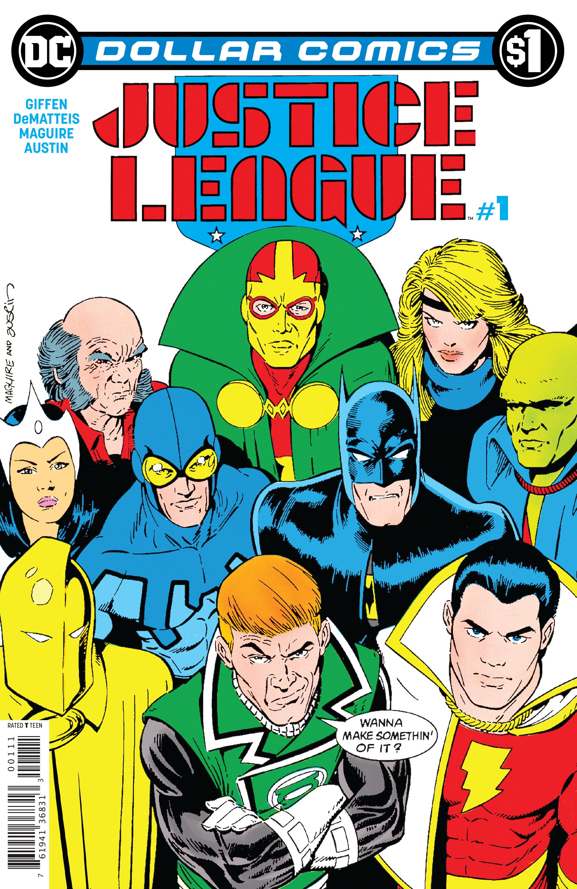 Dollar Comics: Justice League Vol 1 1