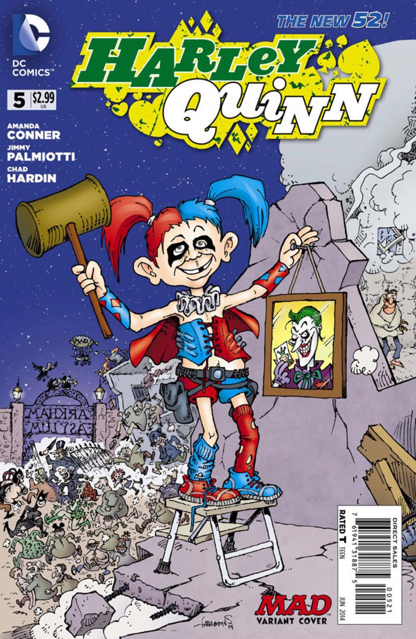 Harley Quinn Vol 2 5 MAD Variant.jpg