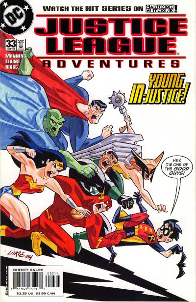 Justice League Adventures Vol 1 33