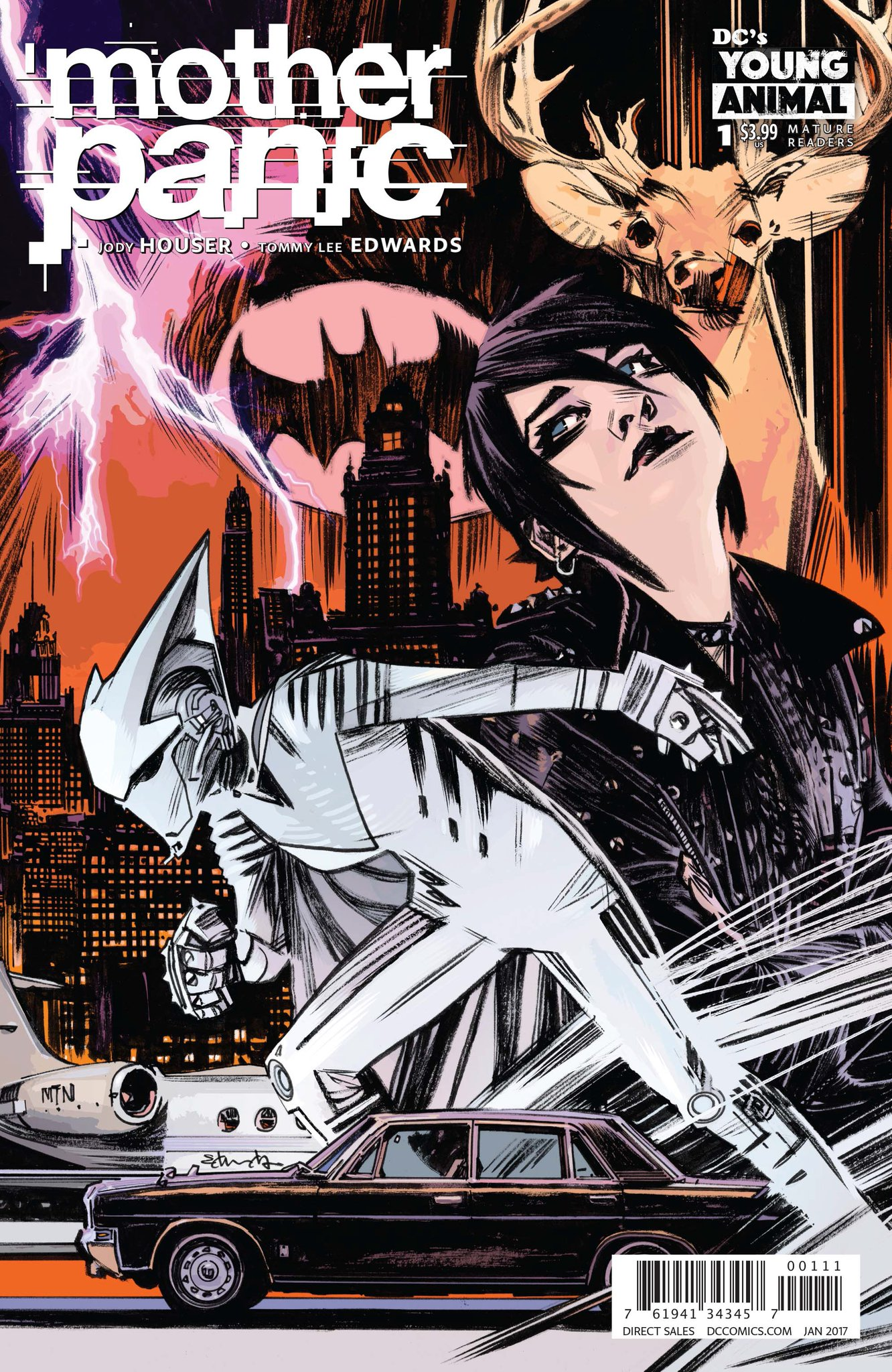 Mother Panic Vol 1 1