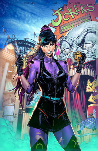 Textless Exclusive Gotham City Comics and Collectibles Variant