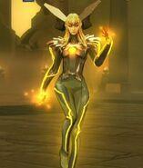 Queen Bee DC Unchained 001
