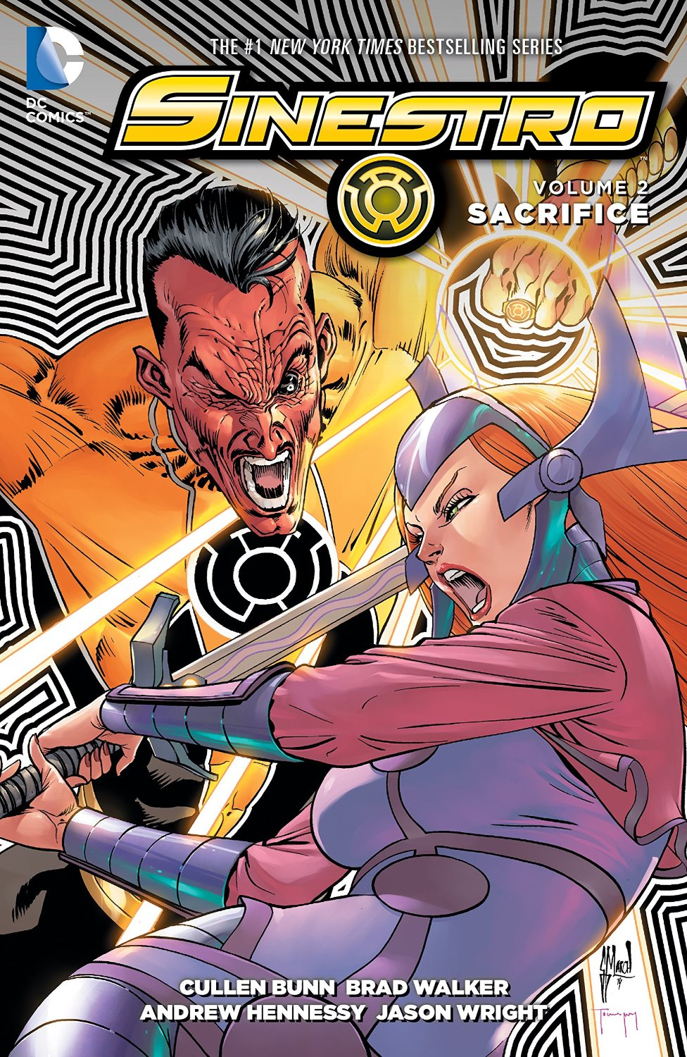 Sinestro: Sacrifice (Collected)