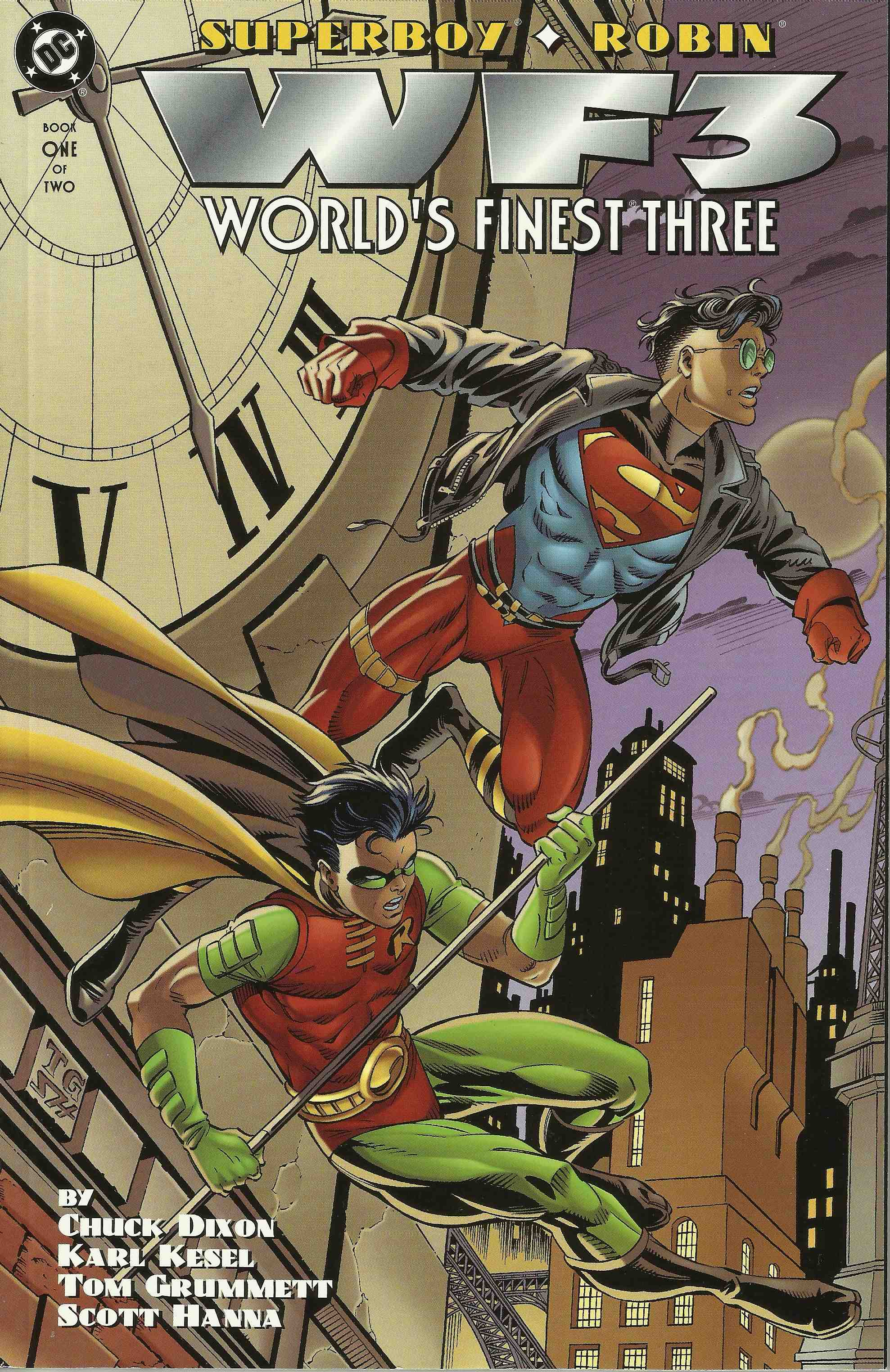 WF3: World's Finest Three (Superboy/Robin) Vol 1