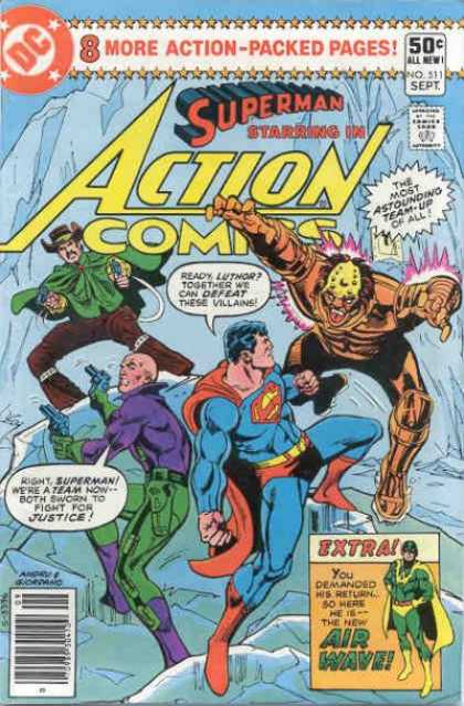 Action Comics Vol 1 511