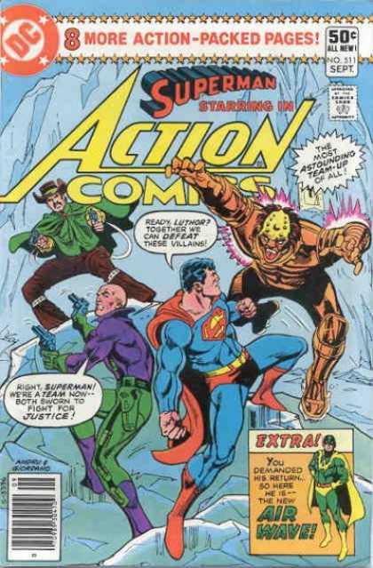Action Comics Vol 1 511