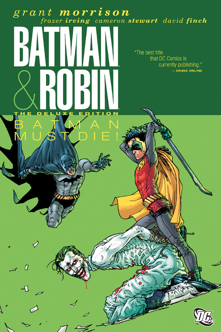 Batman and Robin: Batman Must Die (Collected)