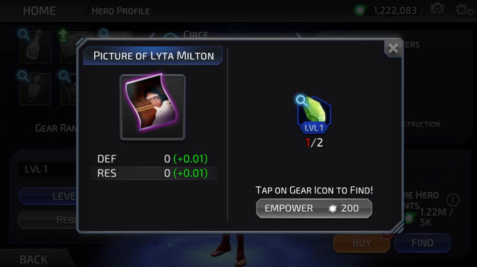 Hippolyta Milton (DC Legends)