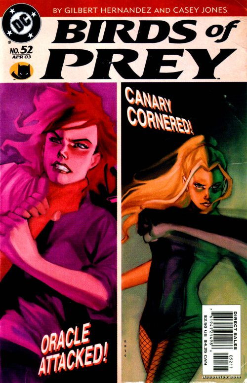 Birds of Prey Vol 1 52