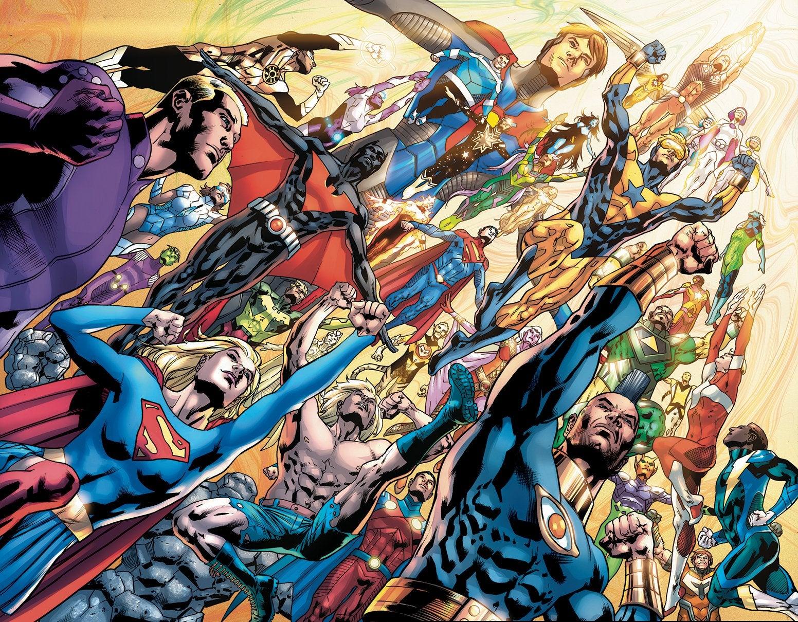 Legion of Super-Heroes Millennium Vol 1 Connecting Textless Variant.jpg