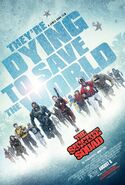 The Suicide Squad Rain Poster