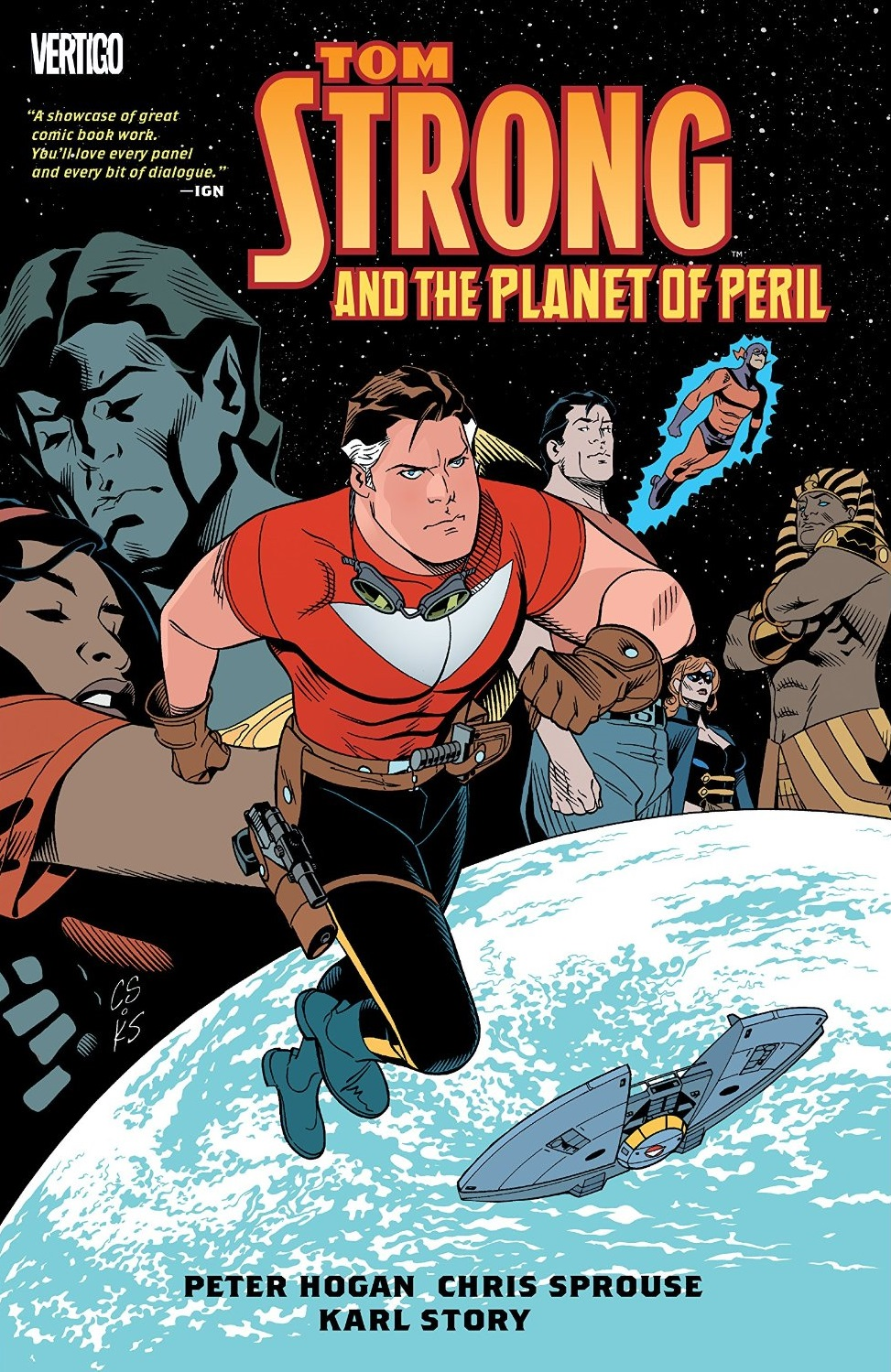 Tom Strong and the Planet of Peril (Collected)