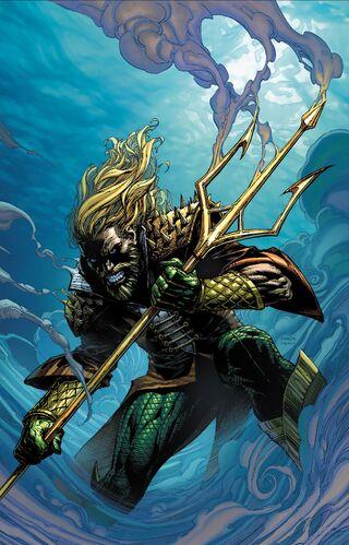Textless Aquaman Variant