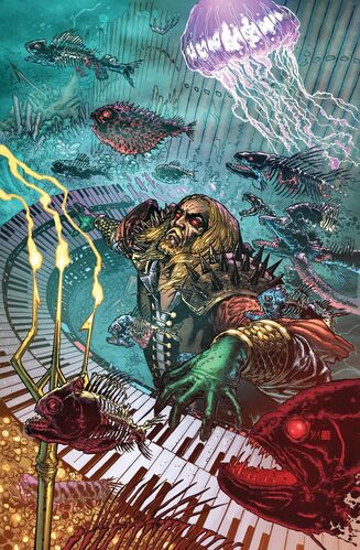 Textless Aquaman Variant