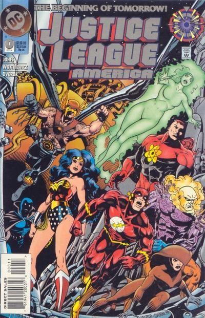 Justice League America Vol 1 0