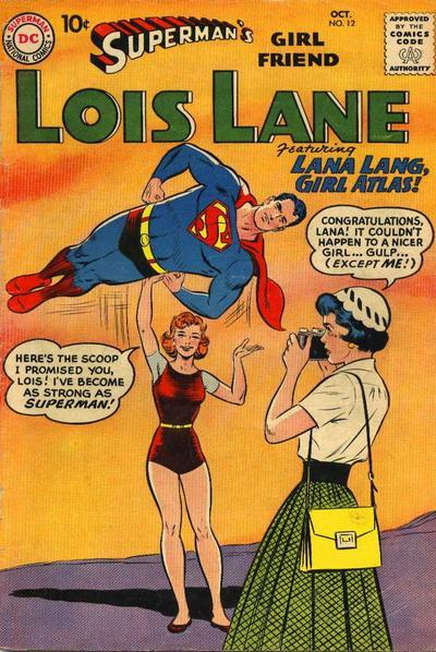 Superman's Girl Friend, Lois Lane Vol 1 12