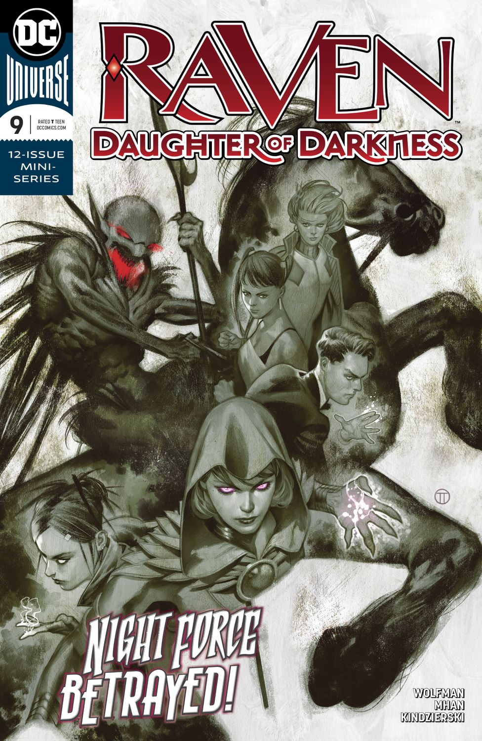 Raven: Daughter of Darkness Vol 1 9