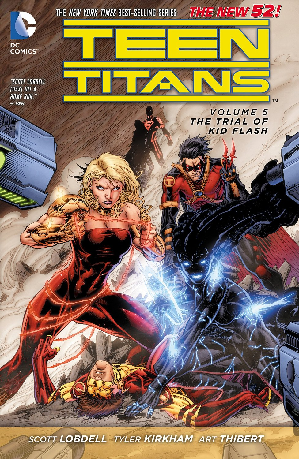 Teen Titans: The Trial of Kid Flash (Collected)