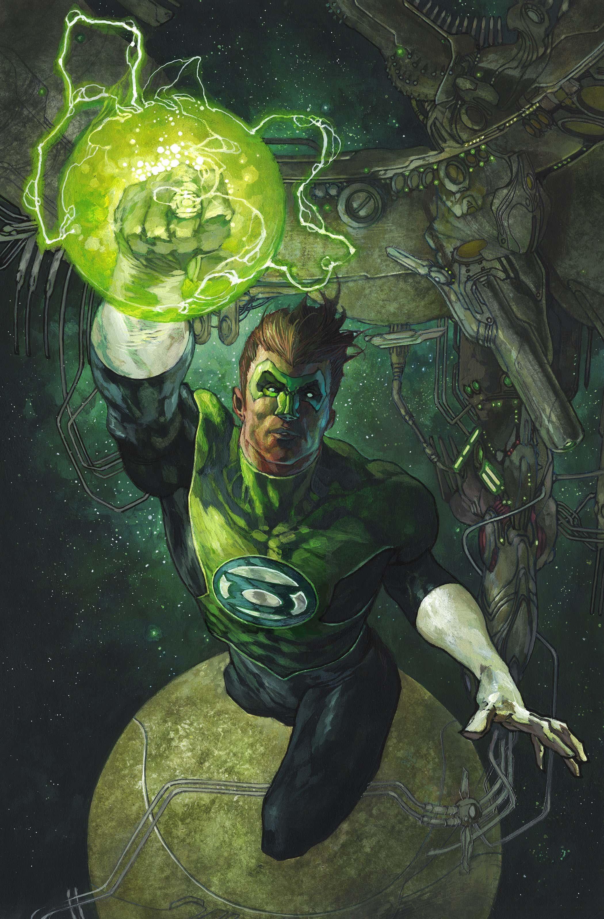 The Green Lantern Season Two Vol 1 8 Textless Variant.jpg