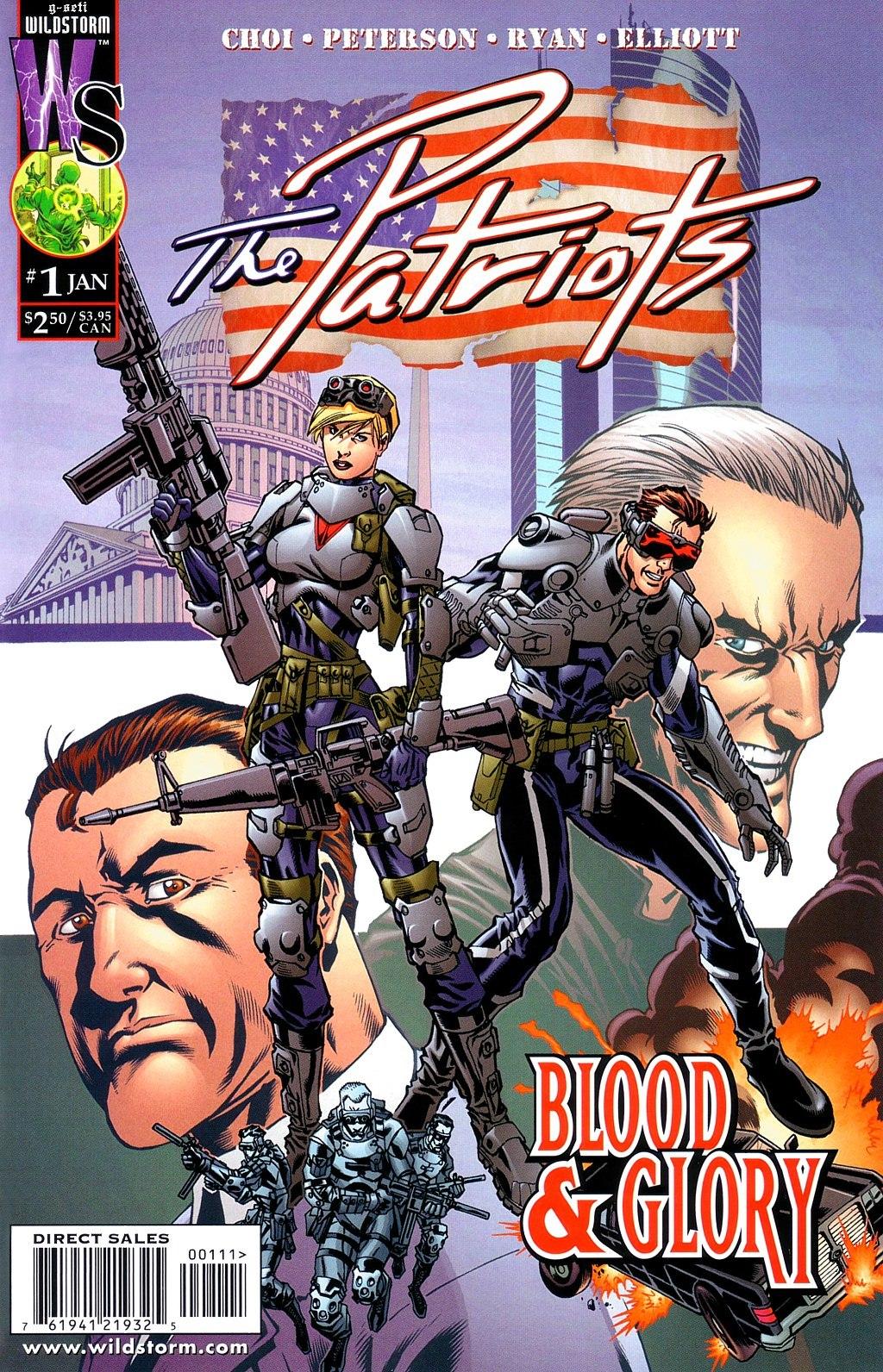 The Patriots Vol 1 1