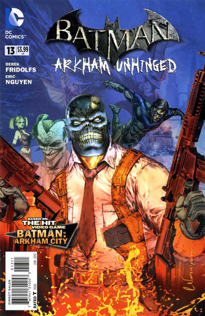 Batman: Arkham Unhinged Vol 1 13