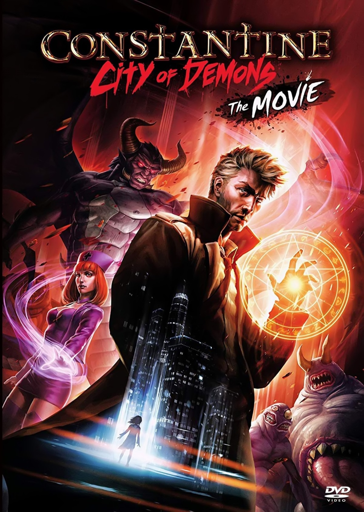 Constantine City of Demons: The Movie