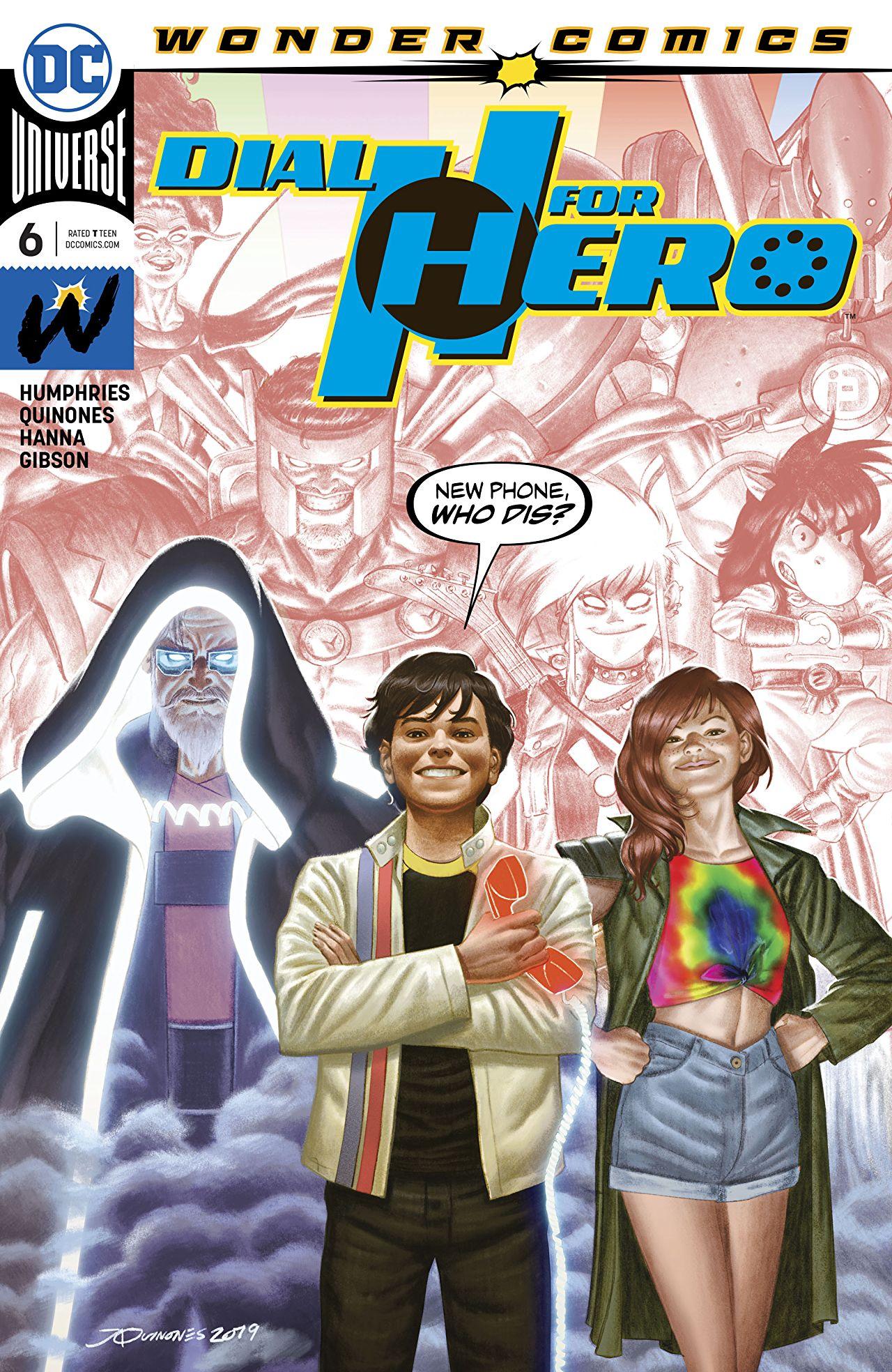 Dial H for Hero Vol 1 6