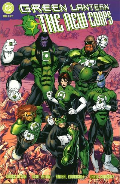 Green Lantern: The New Corps Vol 1 1