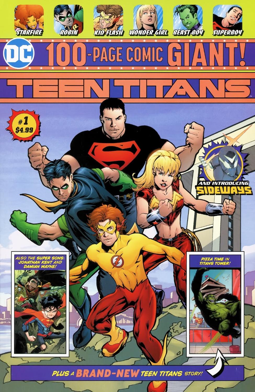 Teen Titans Giant Vol 1