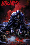 DCeased Vol 1 1 Scorpion Comics Clayton Crain Infected Batman Trade Dress Variant Cover