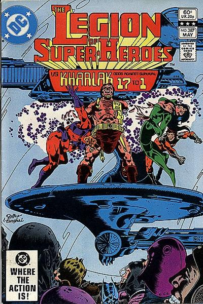 Legion of Super-Heroes Vol 2 287