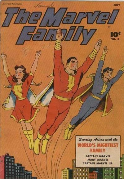 Marvel Family Vol 1 3