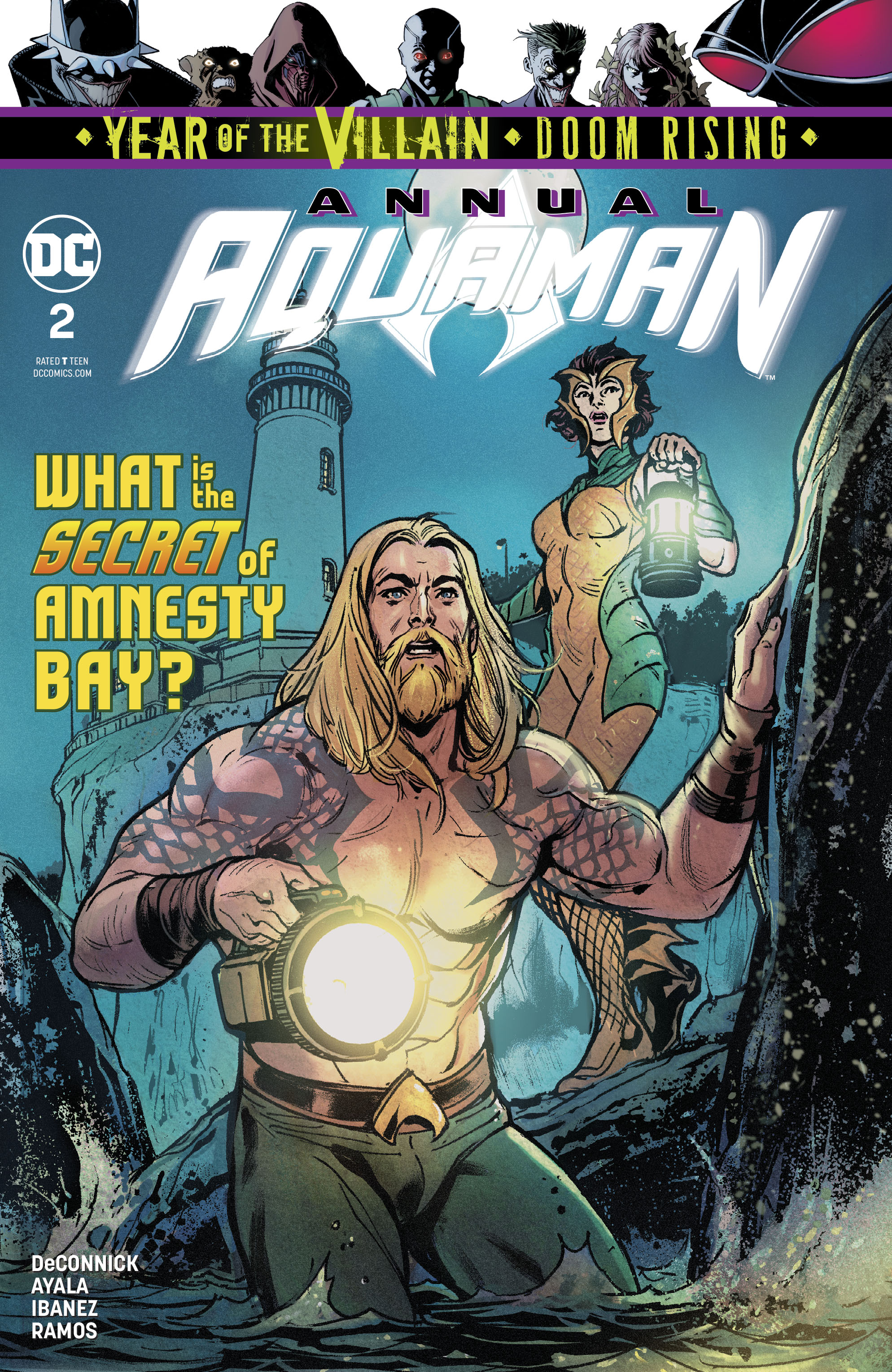 Aquaman Annual Vol 8 2