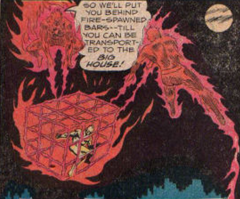 Crusaders (Earth-One) Fireball and Sparky.png