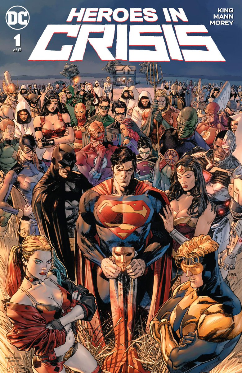 Heroes in Crisis Vol 1 1