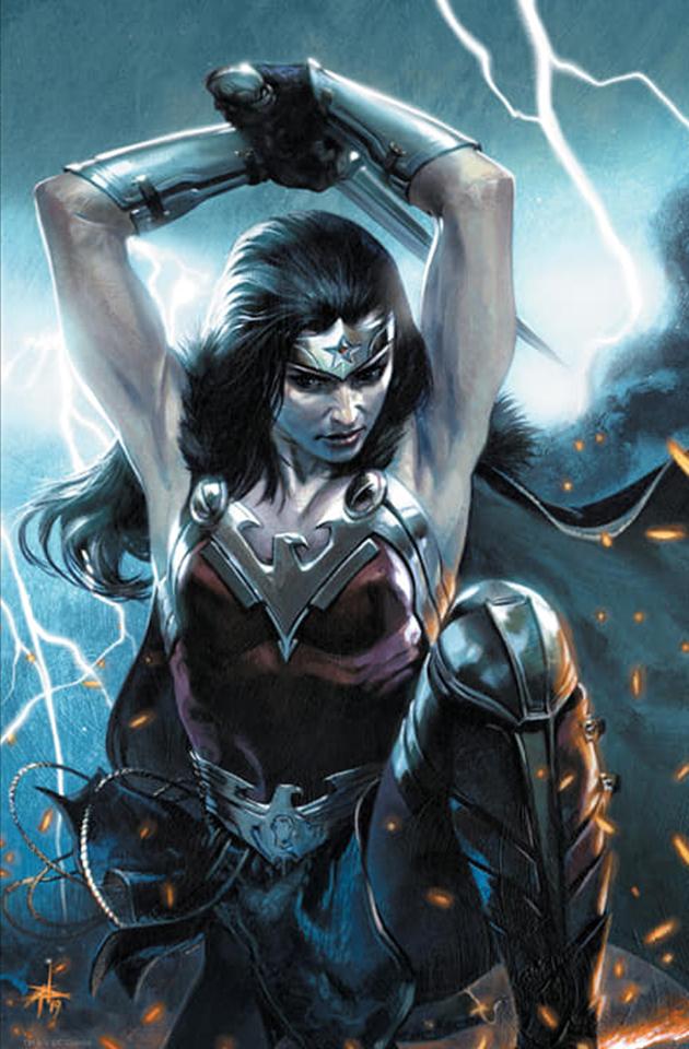 Wonder Woman Vol 1 750 Bulletproof Comics - Gabriele Dell'Otto Virgin Lightning Variant Cover.jpg
