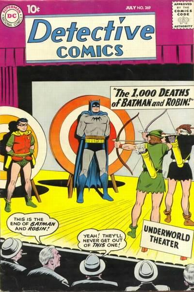 Detective Comics Vol 1 269