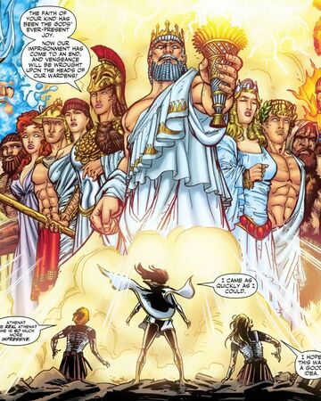 Gods Of Olympus Dc Database Fandom