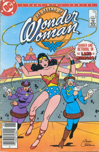 The Legend of Wonder Woman Vol 1 2