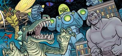 Monster Society of Evil (Earth 5)