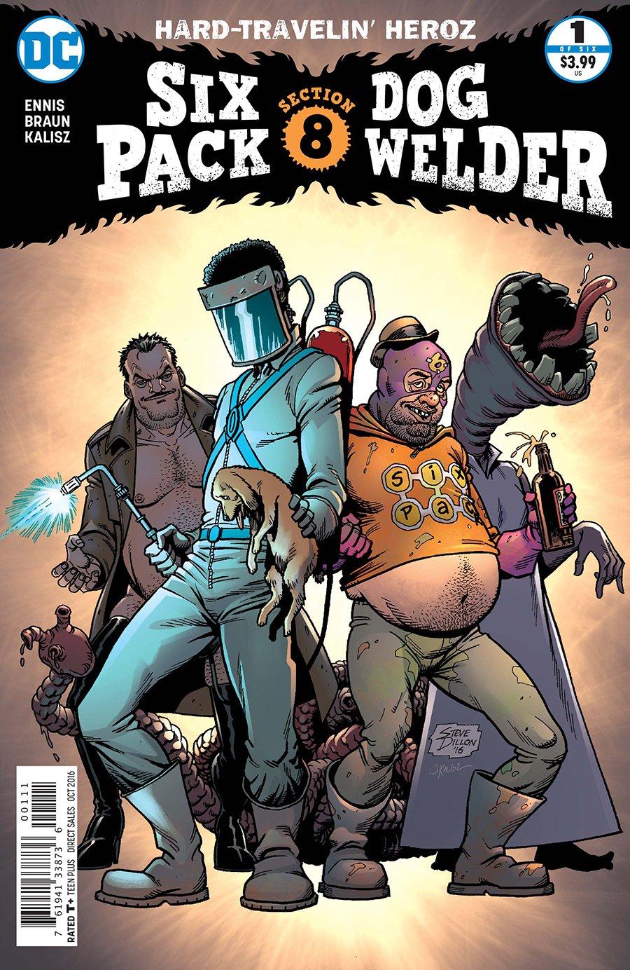 Sixpack and Dogwelder: Hard-Travelin' Heroz Vol 1