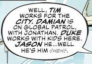 Batman Family Sixth Dimension 001