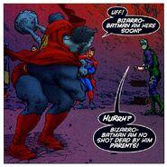 Bizarro Batman All-Star Superman 001