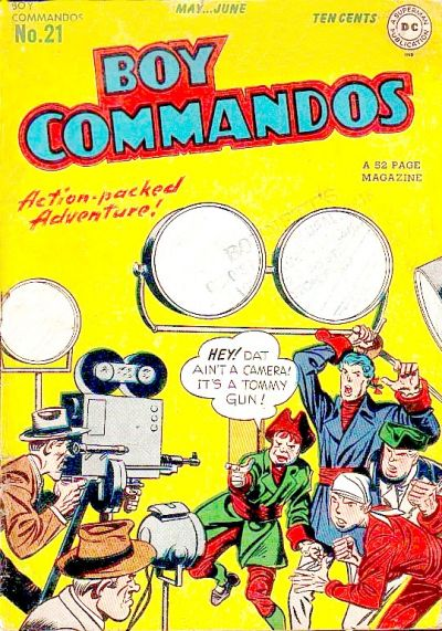 Boy Commandos Vol 1 21