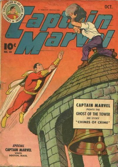 Captain Marvel Adventures Vol 1 40