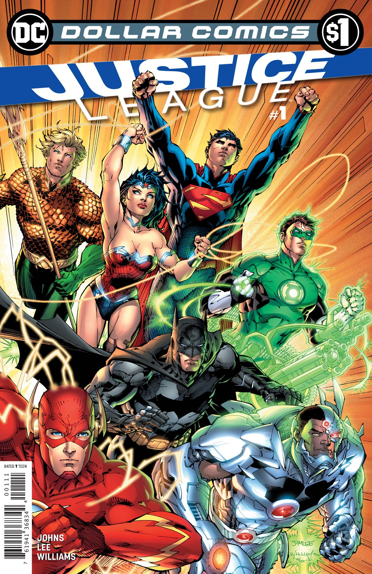 Dollar Comics: Justice League Vol 2 1