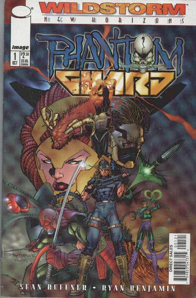 Phantom Guard Vol 1 1