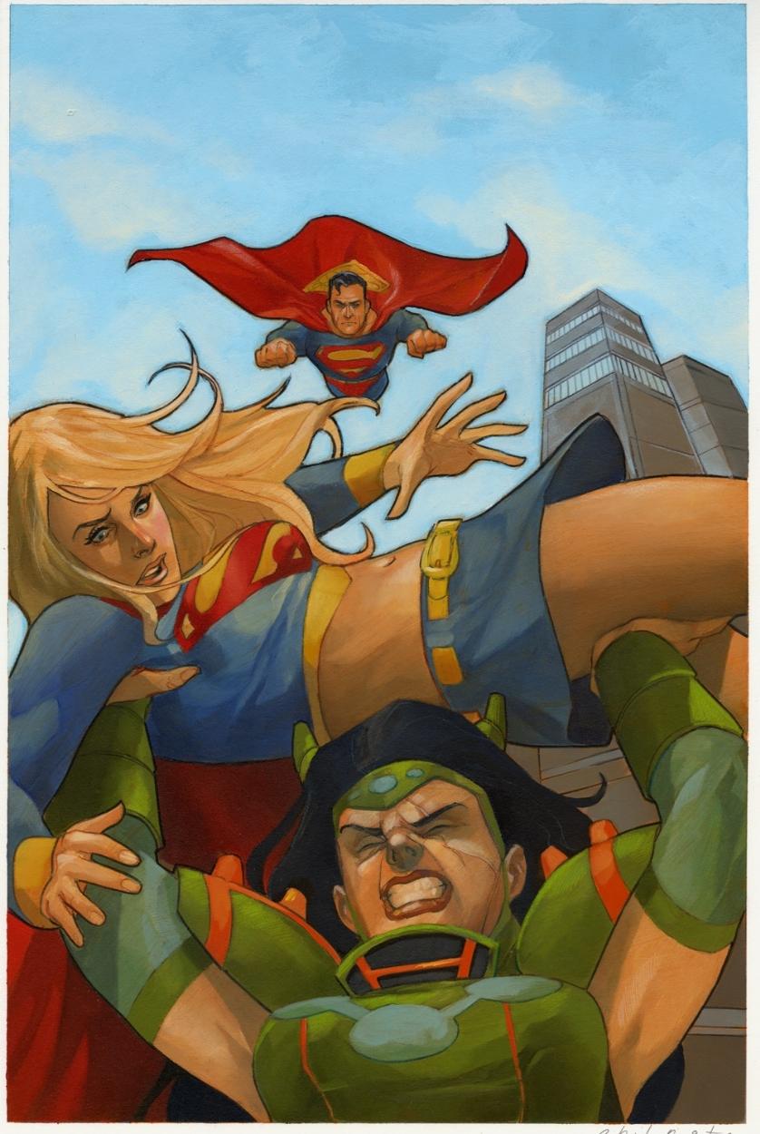 Superman Supergirl Maelstron Vol 1 1 Textless.jpg