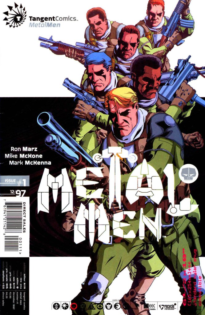 Tangent Comics: Metal Men Vol 1 1
