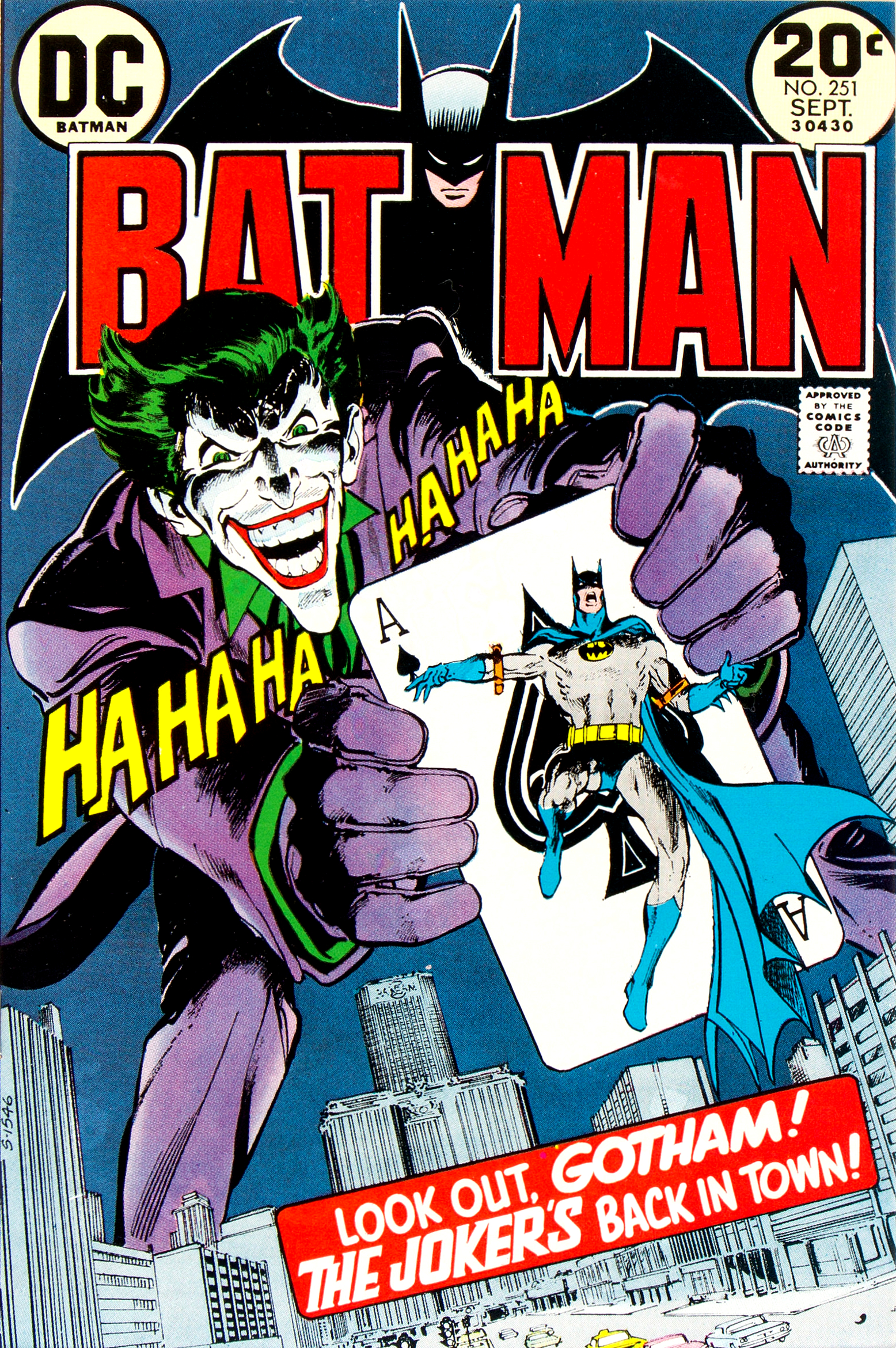Batman Vol 1 251